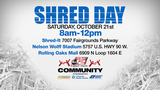 'Shred Day' is Saturday!