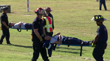 Mock plane crash at SA airport helps responders practice for disaster