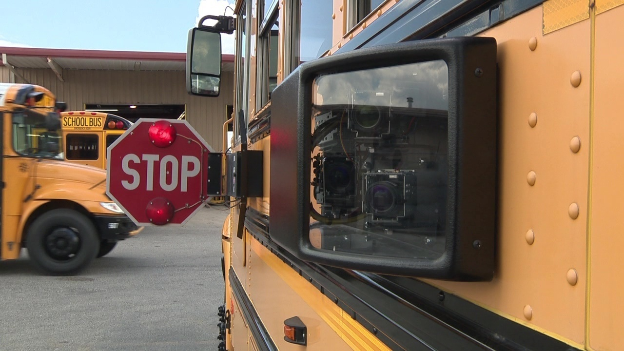 Cameras on school buses catch thousands breaking law; less than half of drivers pay fines