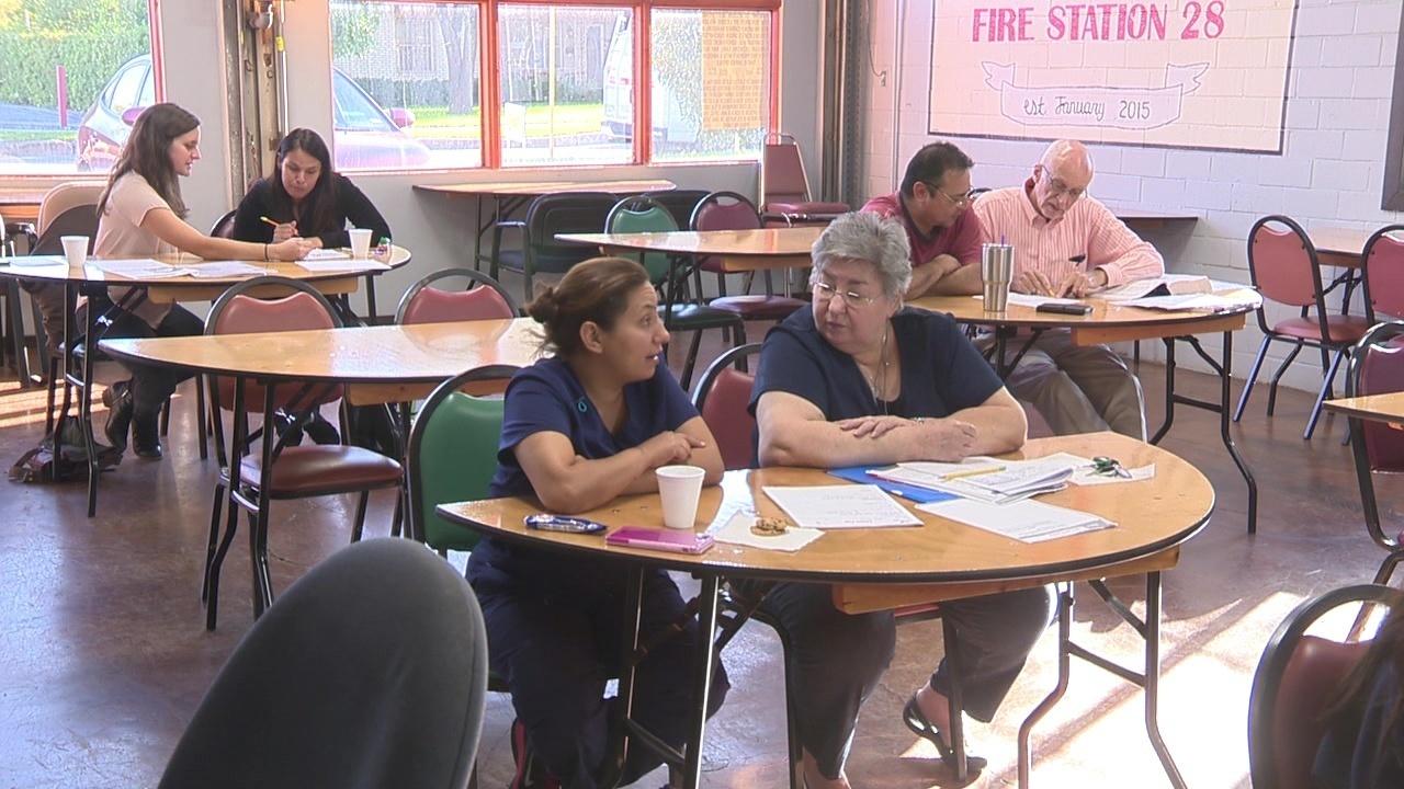 Program pairs adults with tutors to combat city's illiteracy problem