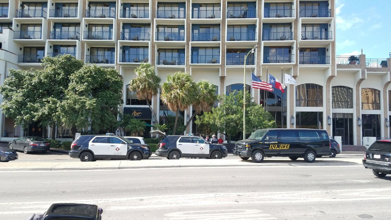 Downtown road temporarily closed after man jumps to his death from hotel balcony