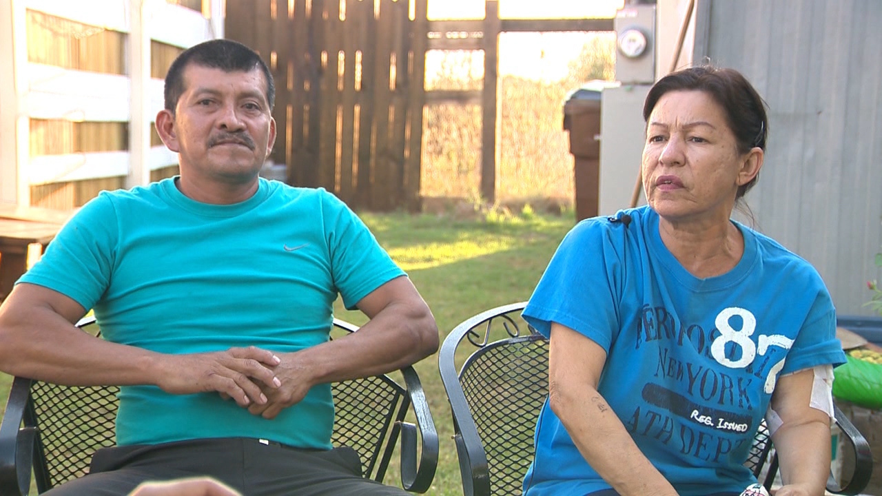 Singing and praise. Then gunfire. Couple shares story of...