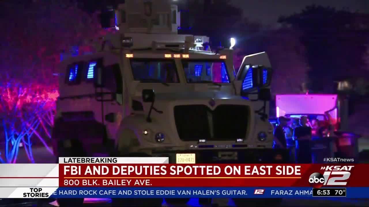Fbi Multiple Agencies Conduct Raids Throughout San Antonio