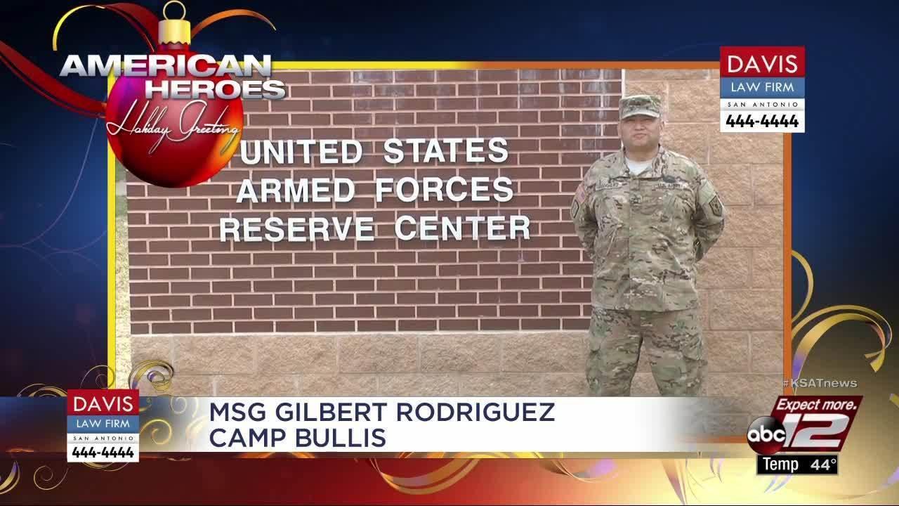 Holiday Greetings Msg Gilbert Rodriguez