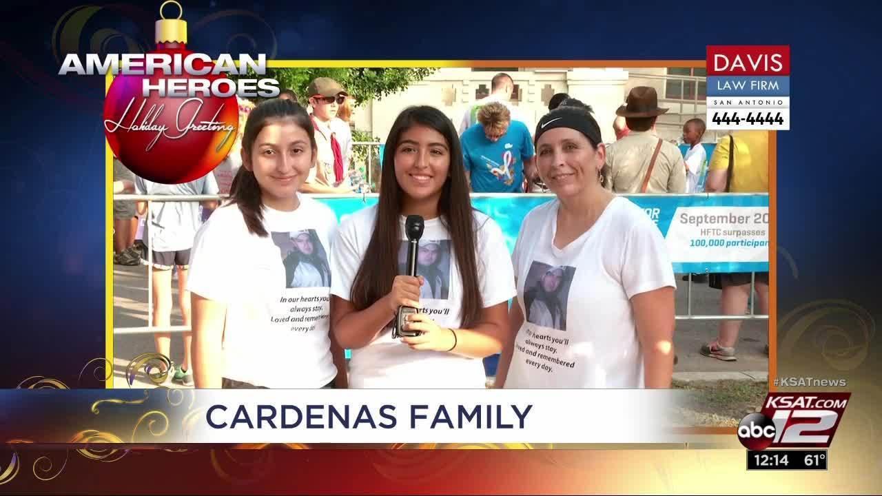 Holiday Greetings Cardenas Family