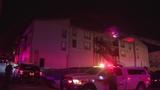 Firefighters battle blaze inside North Side apartment complex