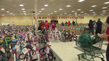 Needy families receive Christmas gifts from Salvation Army