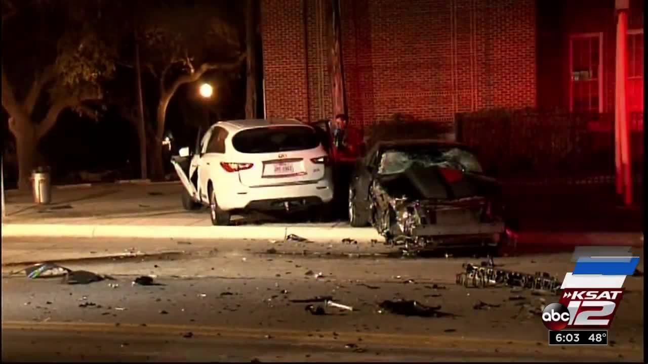 Suspected Drunk Driver Causes 3 Car Accident Police Say