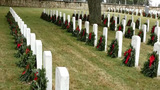 Local group honors veterans with wreaths at San Antonio National Cemetery
