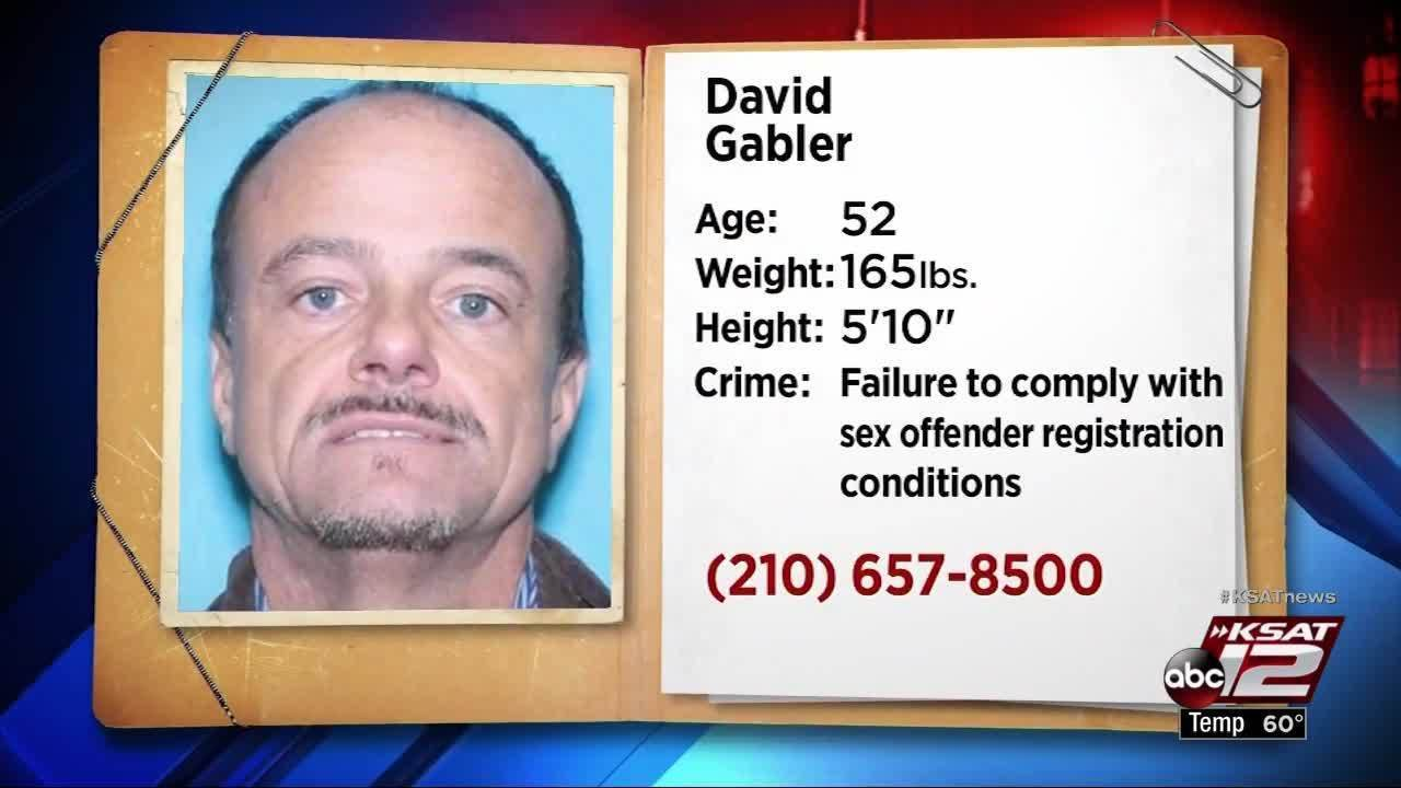 Sex offender on probation hasn't reported address to SAPD in.