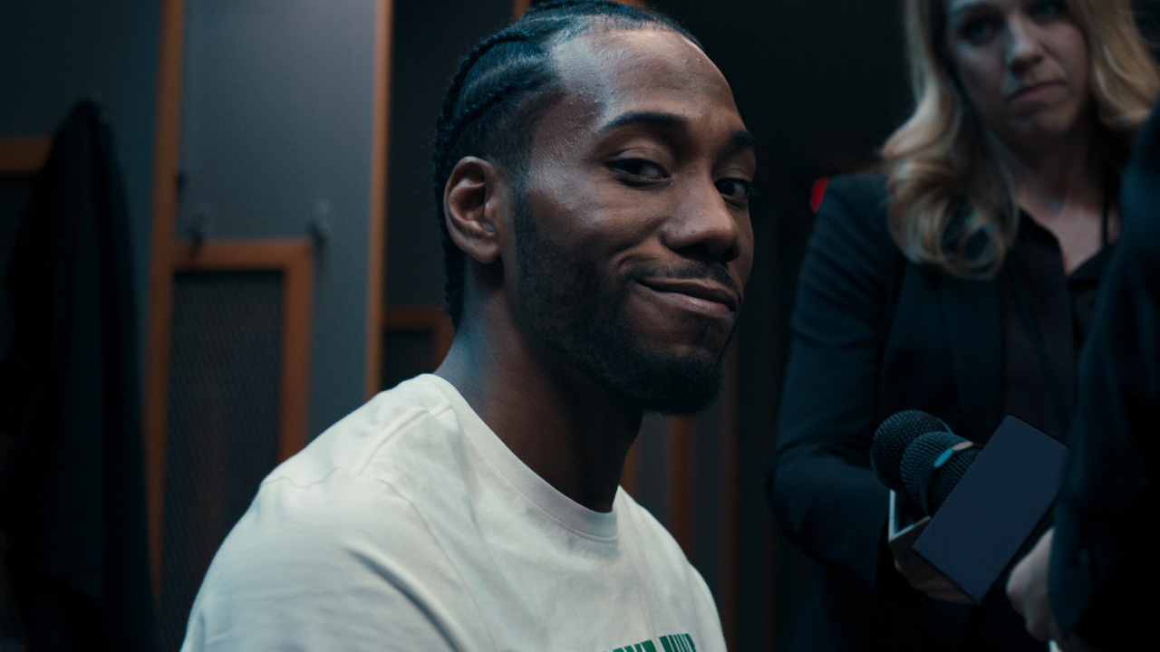 1b70bdee6d3e86 Karate Kawhi  to  Bold Like Kawhi   Leonard stars in new Foot...