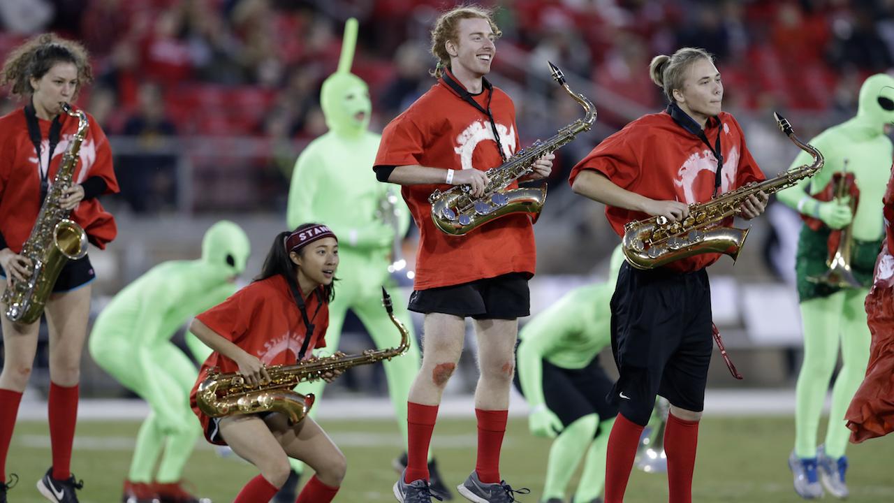 Stanford Band Mocks Texas Whataburger During Alamo Bowl