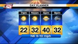 KSAT Weather: Wintry mix moves on&#x3b; cold air stays