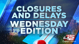 Businesses delaying opening times on Wednesday due to weather