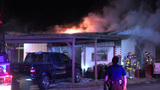 Fire reignites at Northeast Side home