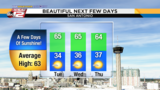 KSAT Weather: Sunny stretch ahead&#x3b; mountain cedar season begins downhill trend