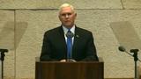 WATCH LIVE: Vice President Pence speaks from Jerusalem