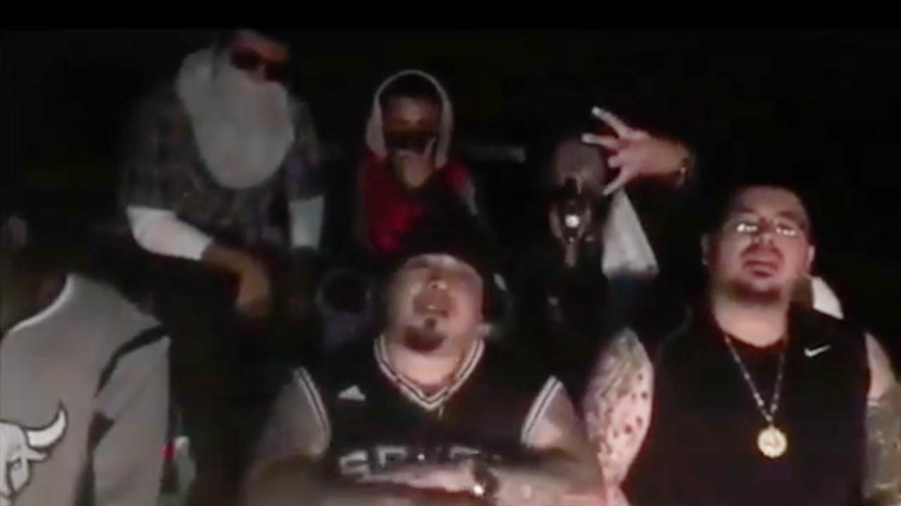 Texas' most violent gang network threatens rapper over San
