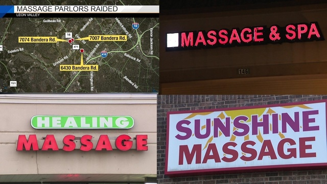 Video Thumbnail For Video 11 Chinese Immigrants Identified In Leon Valley Massage Parlor Sex Sting