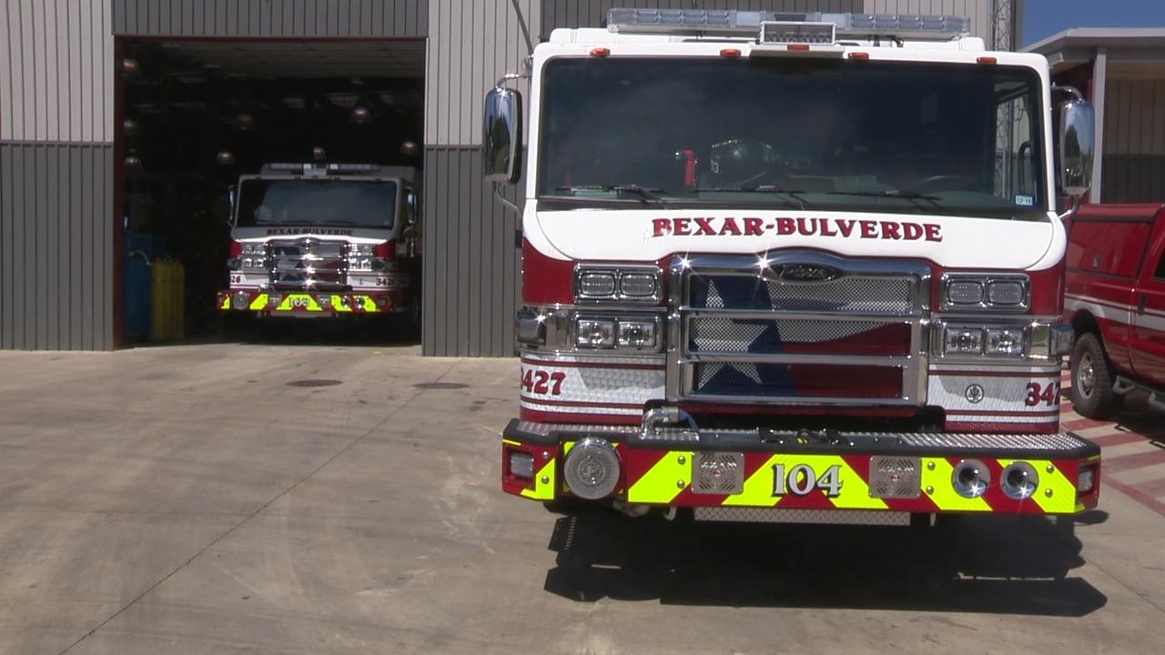 Bexar Bulverde Volunteer Fire Department Gets New