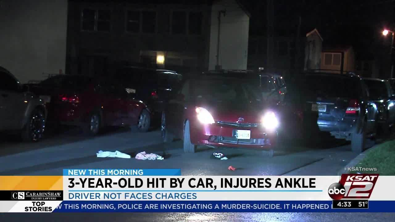 3 Year Old Running Across Street Struck By Car Hospitalized