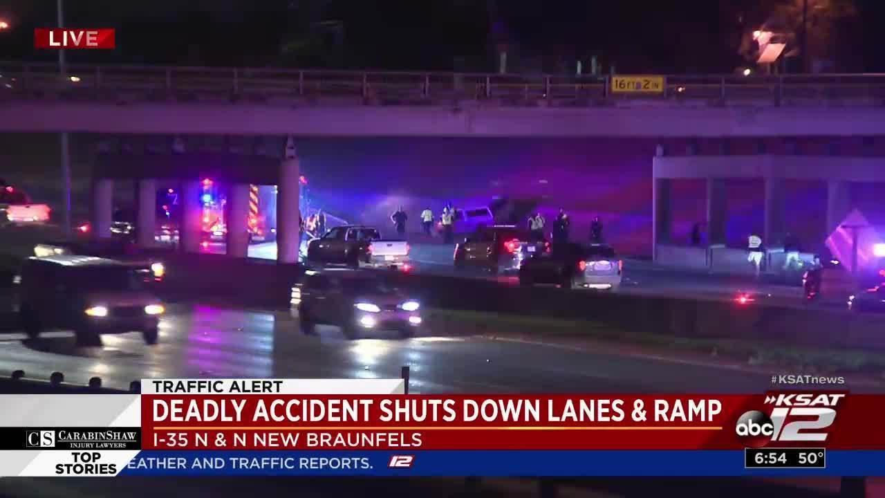 Man fatally struck on I-35
