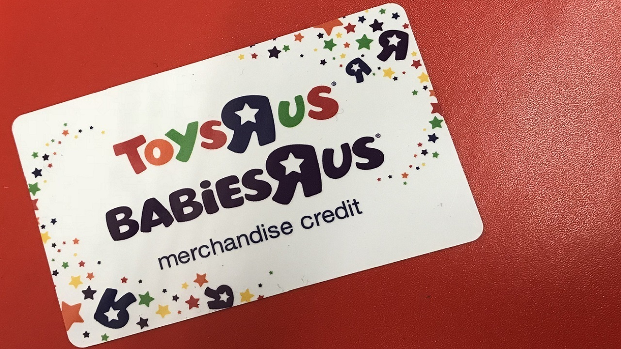 Got Gift Cards To Toys R Us Spend Them Soon