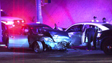 Driver t-boned after running red light, police say