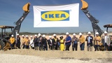 City officials, store representatives break ground on new Live Oak Ikea store