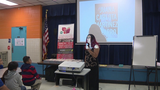 SA Book Festival author pays visit to Edgewood ISD school