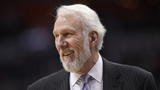 Spurs, coach Gregg Popovich deliver new shoes to elementary school students
