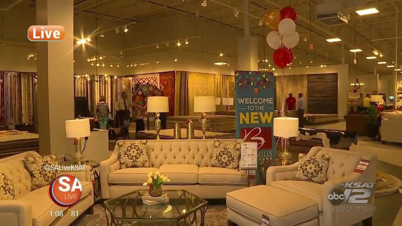 Grand Opening Of New Bob Mills Furniture Store