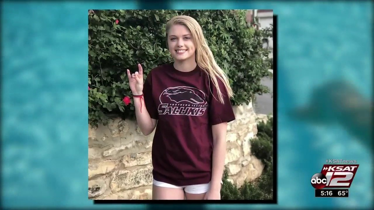 Deaf athlete swims her way to college scholarship