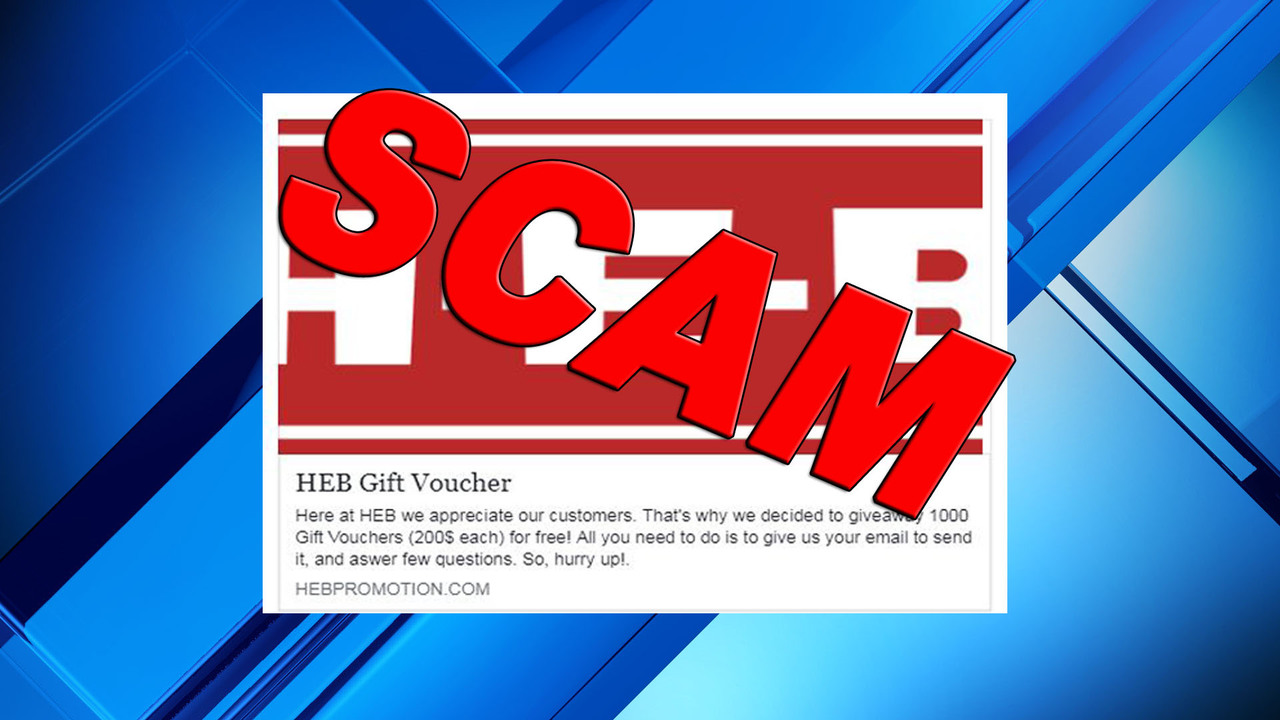 H-E-B: Viral voucher giveaway circling social media site is fake
