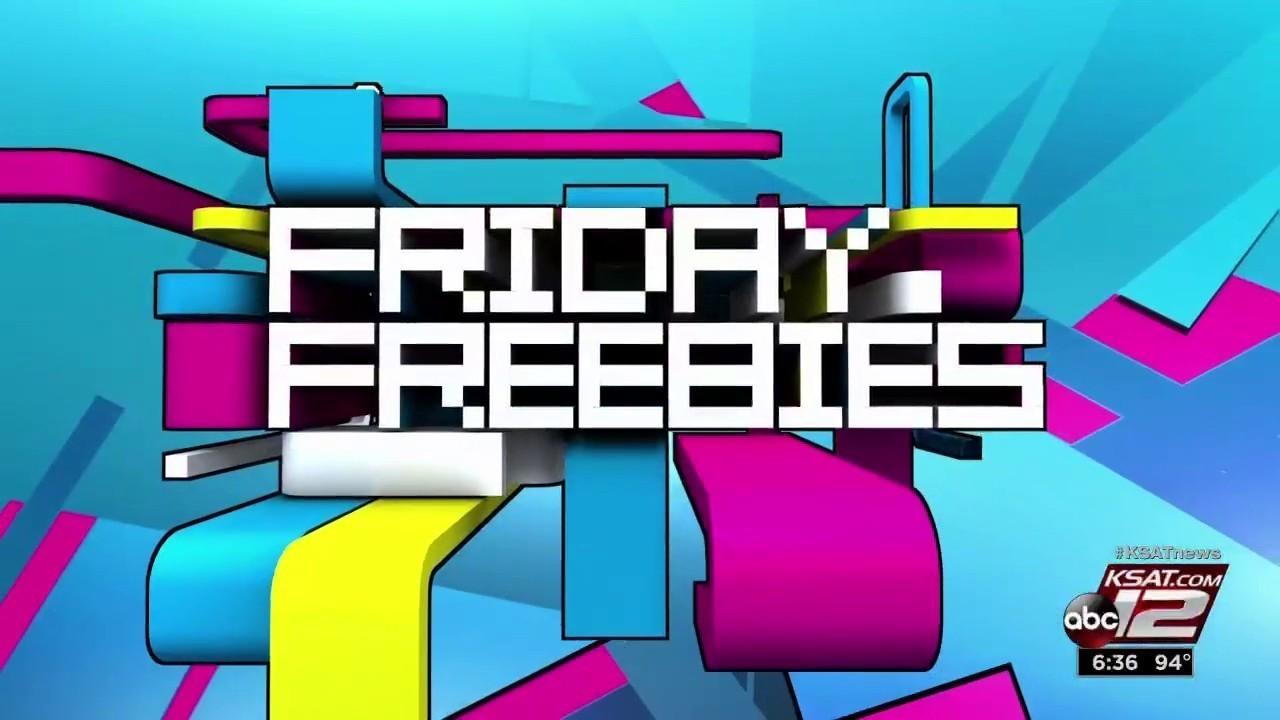 Friday Freebies: May 25, 2018