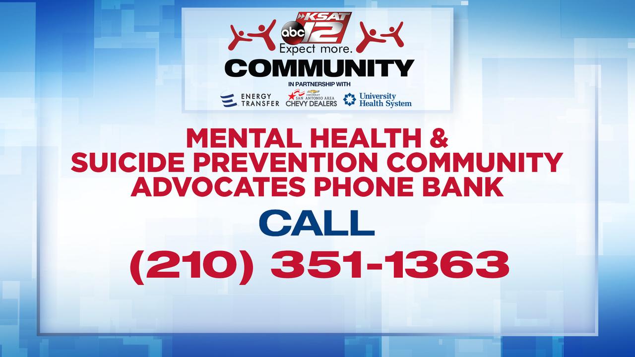 Mental Health & Suicide Prevention Community Advocates Phone