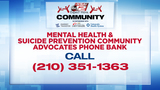 Mental Health & Suicide Prevention Community Advocates Phone Bank 5-7 p.m.