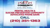 Mental Health & Suicide Prevention Community Advocates Phone Bank 5-7 p.m.