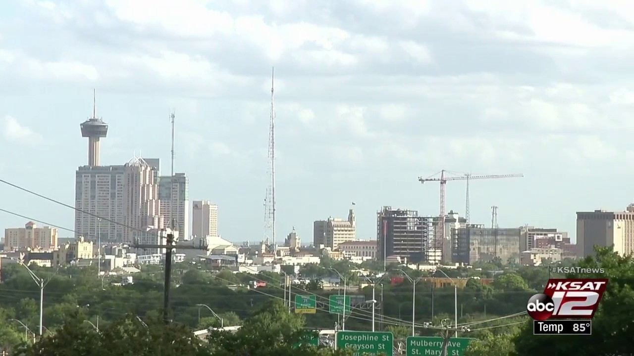 San Antonio Close To Exceeding Federal Air Quality