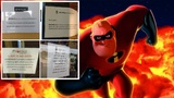 Theaters warn moviegoers new 'Incredibles 2' movie could cause&hellip&#x3b;