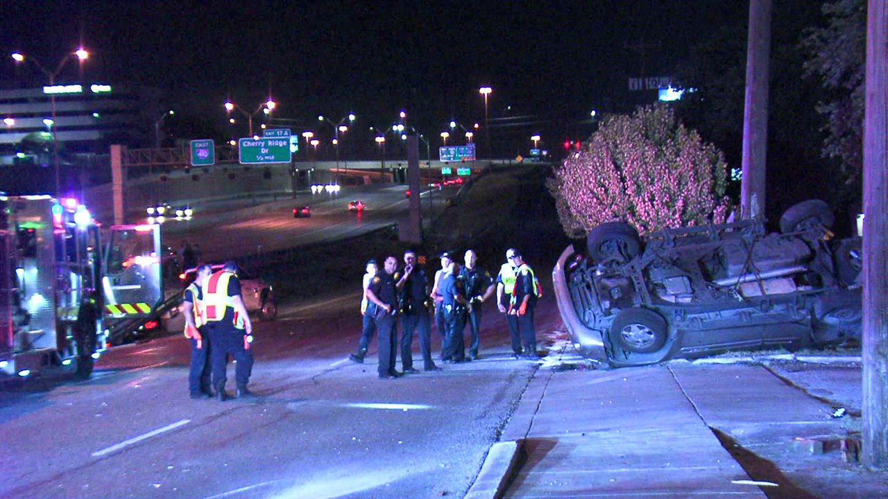Teen driver without license crashes, rolls vehicle into telephone pole