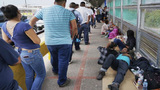 Texas group takes in roughly 30 parents separated from kids