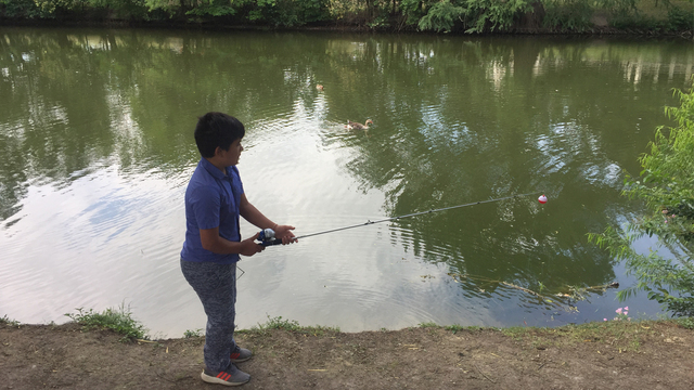 Free fishing day is Saturday