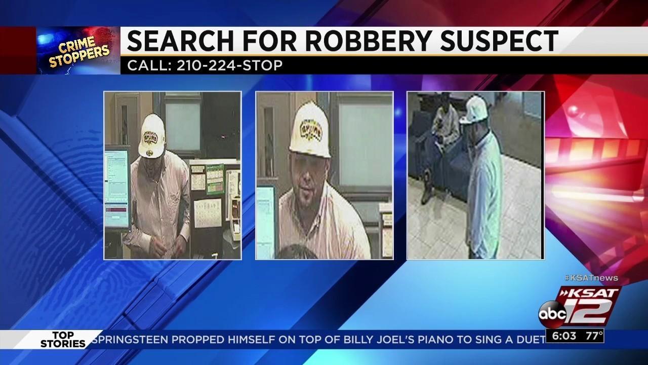 Suspect Threatens Bank Teller With Handgun Steals Cash