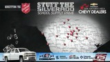 Participating locations to drop off school supplies for 'Stuff the Silverado'