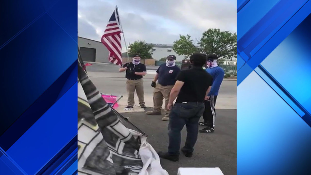 Watch White Supremacist Group Clashes With Anti Ice