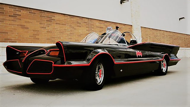 Check out Batmobile, say hi to Adam Caskey at Bat Loco Bash