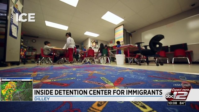 see what it looks like inside the ice facility in dilley