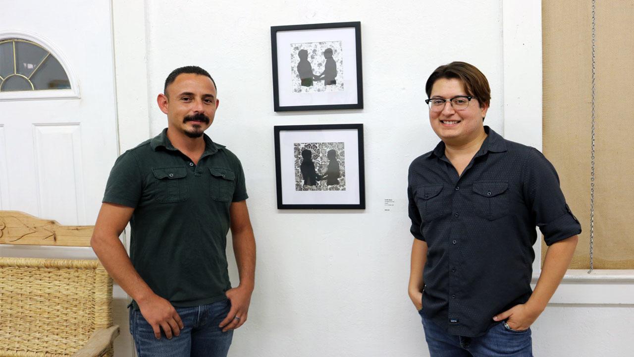 Camilo Garza (right)