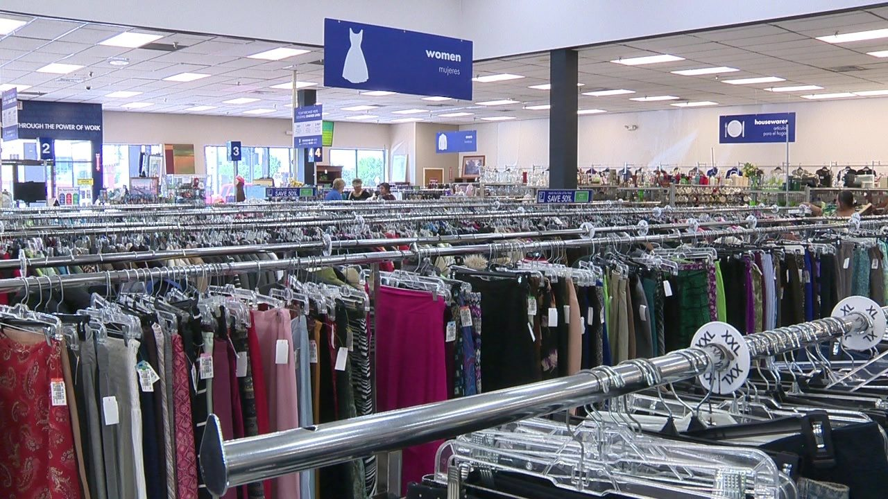 Thrift store shopping could save you hundreds on back-to-school clothes